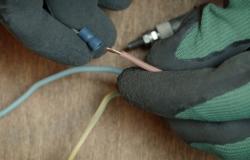 монтаж электрического теплого  плинтуса (инструкция 10-1)