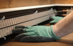 монтаж электрического теплого  плинтуса (инструкция 12-1)