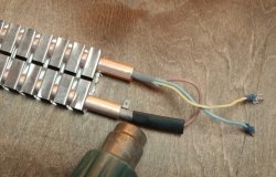 монтаж электрического теплого  плинтуса (инструкция 11-1)