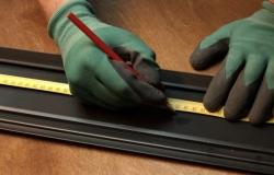 монтаж электрического теплого  плинтуса (инструкция 1)